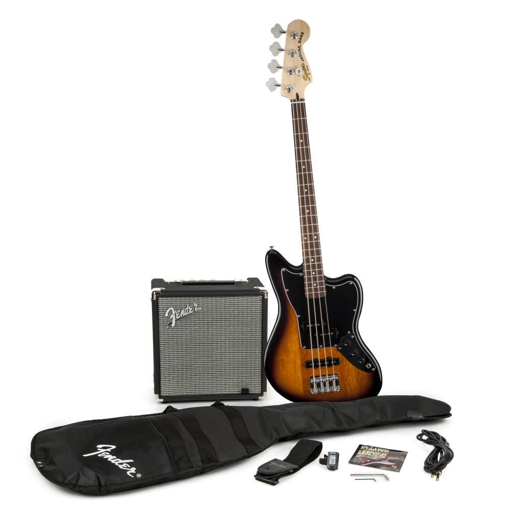 Fender Squier Affinity Series Precision Bass Pack (Brown Sunburst) ბას გიტარის კომპლექტი