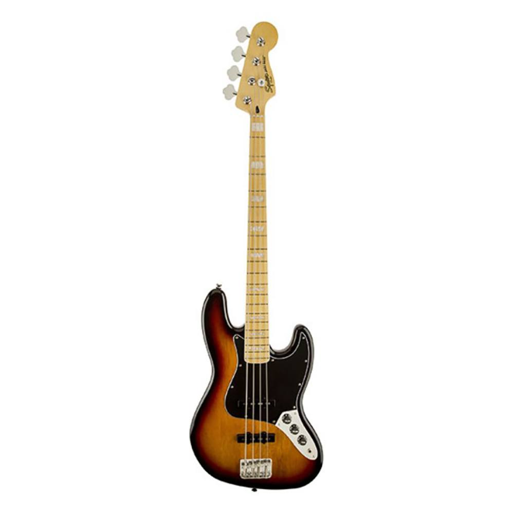 FENDER SQUIER Vintage Modified Jazz Bass® '77 Maple Fingerboard 3-Color Sunburst ბას გიტარა