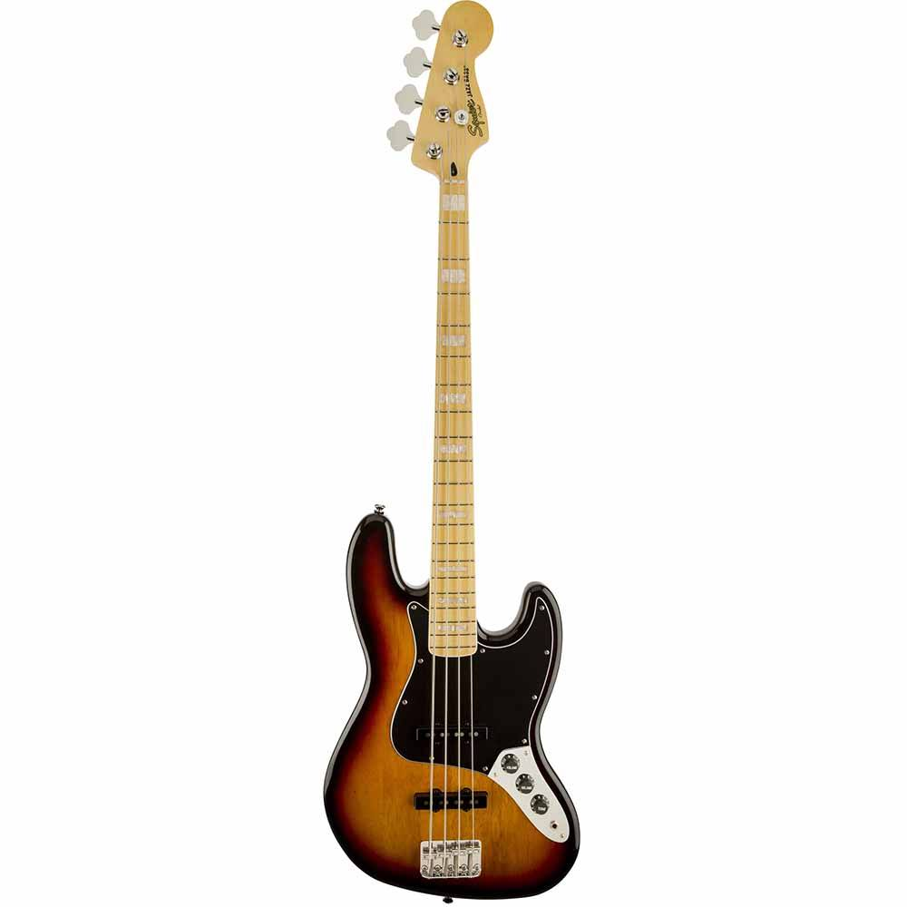 FENDER SQUIER Vintage Modified Jazz Bass®, 3-Color Sunburst ბას გიტარა
