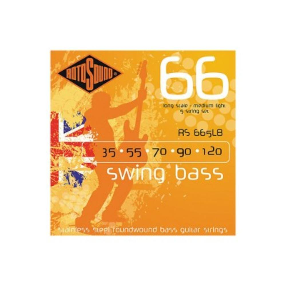 Roto RS665LB SWING BASS 5ST EX LT GAUGE SE სიმები
