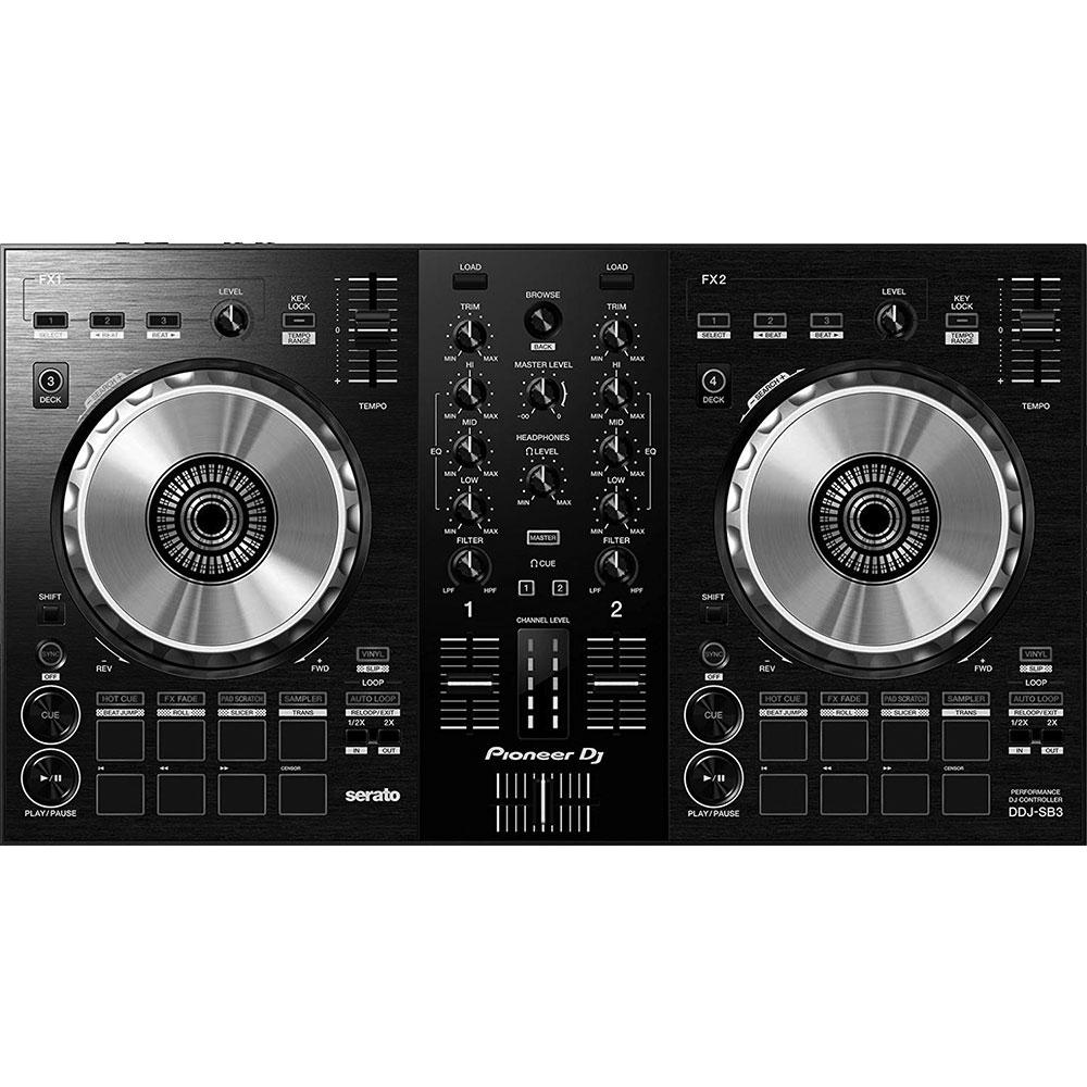 Pioneer Dj DDJ-SB3/SXJ 2Channel Controller for Serato DJ (Black) კონტროლერი
