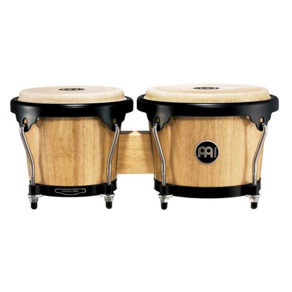 "Meinl HB100NT 6-3/4""+8"" WOOD BONGO NATURAL ბონგო"