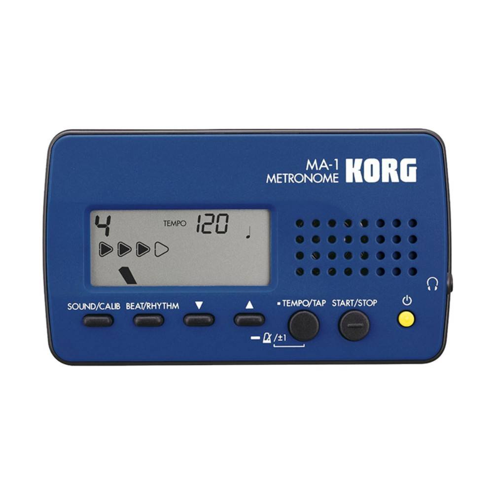 Korg MA1BL Visual beat Counting Metronome - blue მეტრონომი