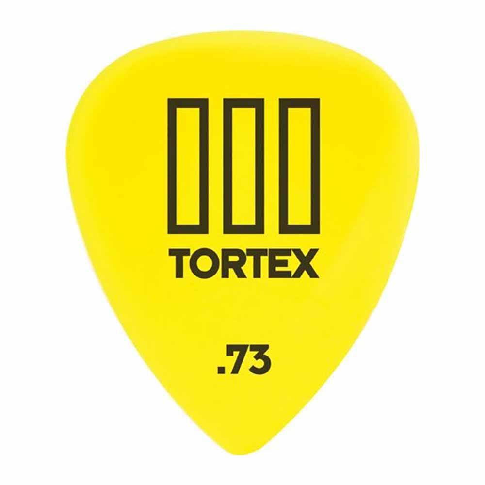 Dunlop 462R.73 Tortex TIII, Yellow, .73mm-მედიატორი