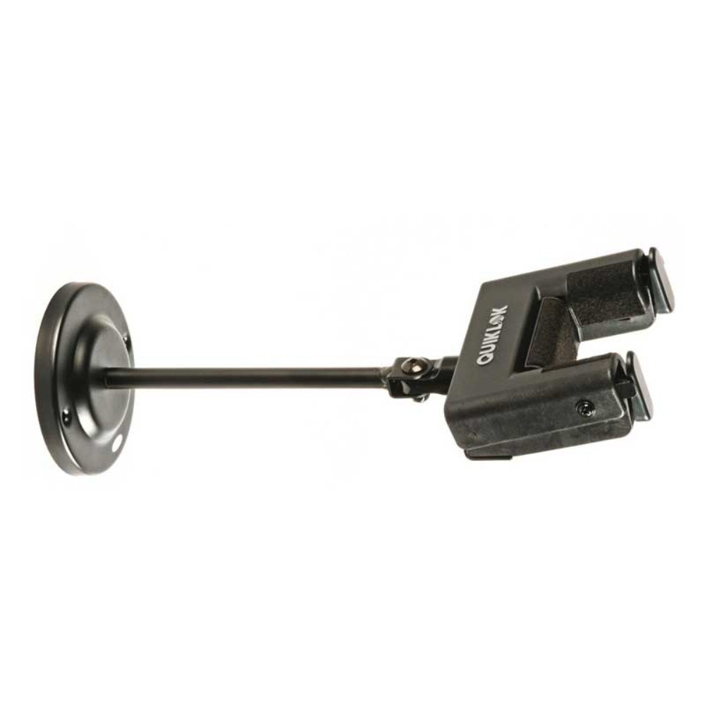 QUIKLOK GS701 Guitar wall-mount with self-locking yoke device Black გიტარის საკიდი