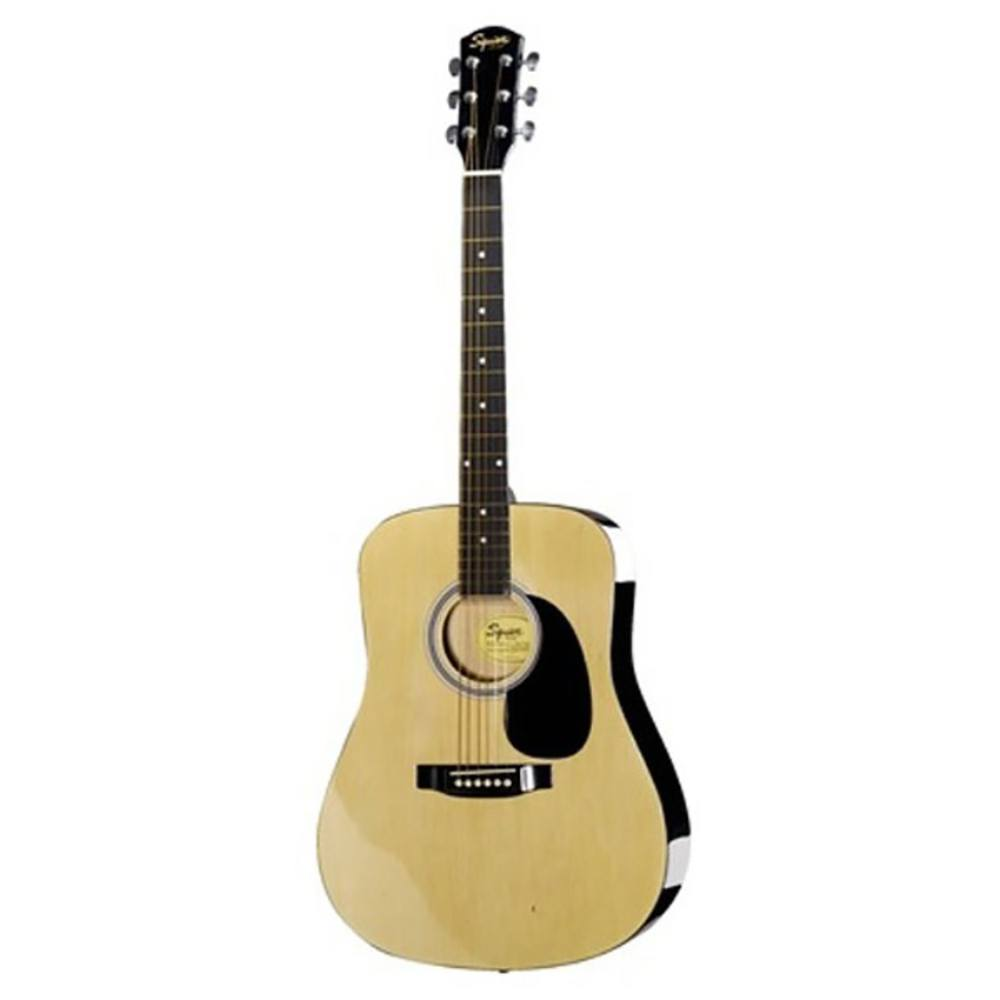 Fender Squier SA-105 Dreadnought Natural Acoustic Guitar აკუსტიკური გიტარა