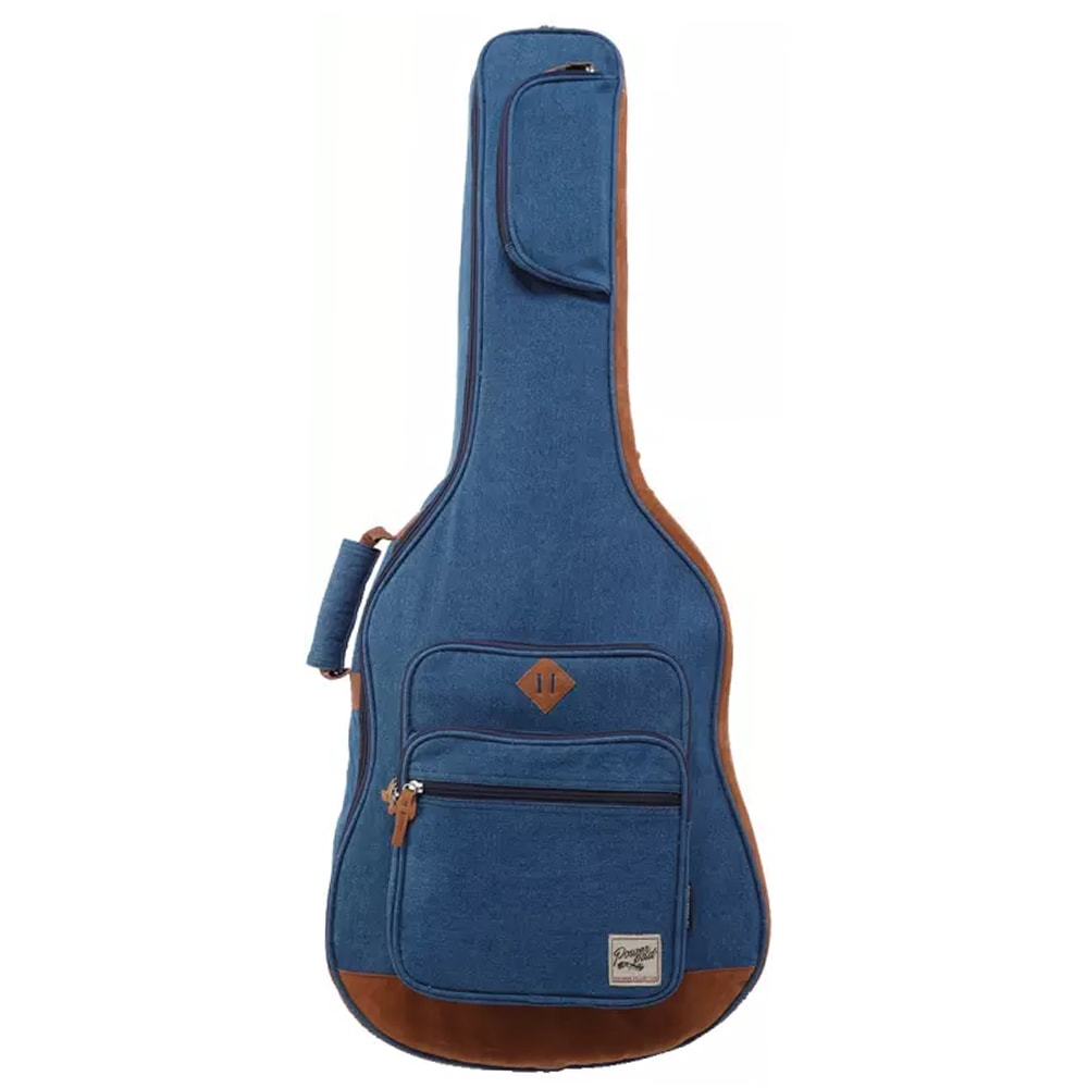 IBANEZ IAB541D-BL  Gig bag for acoustic, Limited Designer Collection, 30mm padding, 3 pockets, Blue გიტარის შალითა