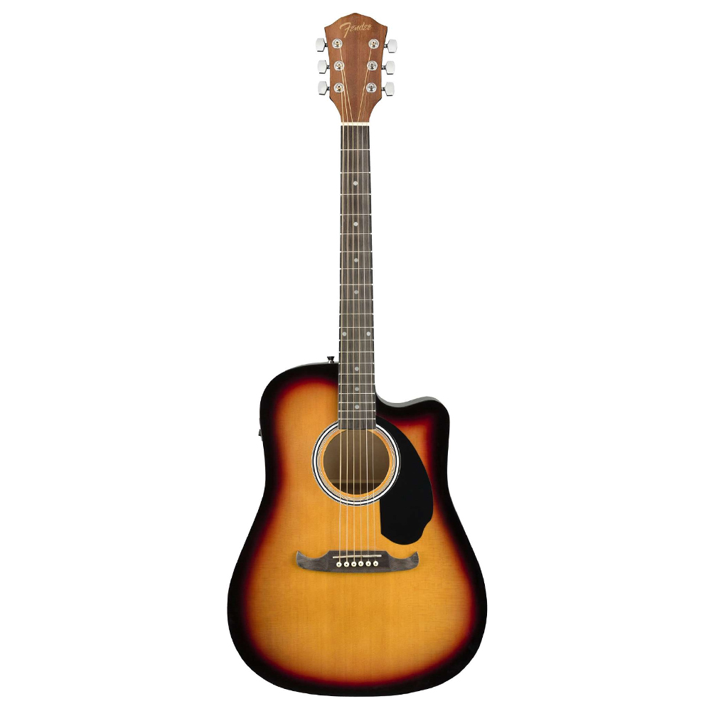 Fender FA-125CE Dreadnought, Laminated Hardwood Sunburst აკუსტიკური გიტარა