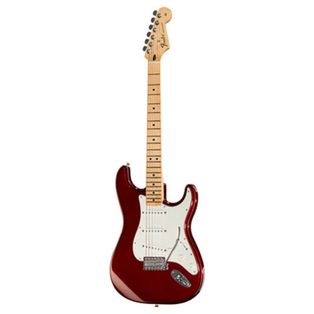 fender standard stratocaster electric guitar (candy apple red) ელექტრო გიტარა