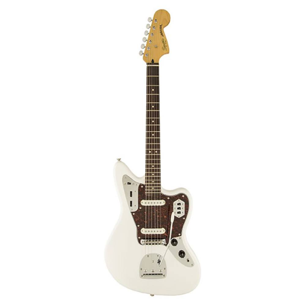 FENDER SQUIER Vintage Modified Jaguar® Rosewood Fingerboard Olympic White ელექტრო გიტარა