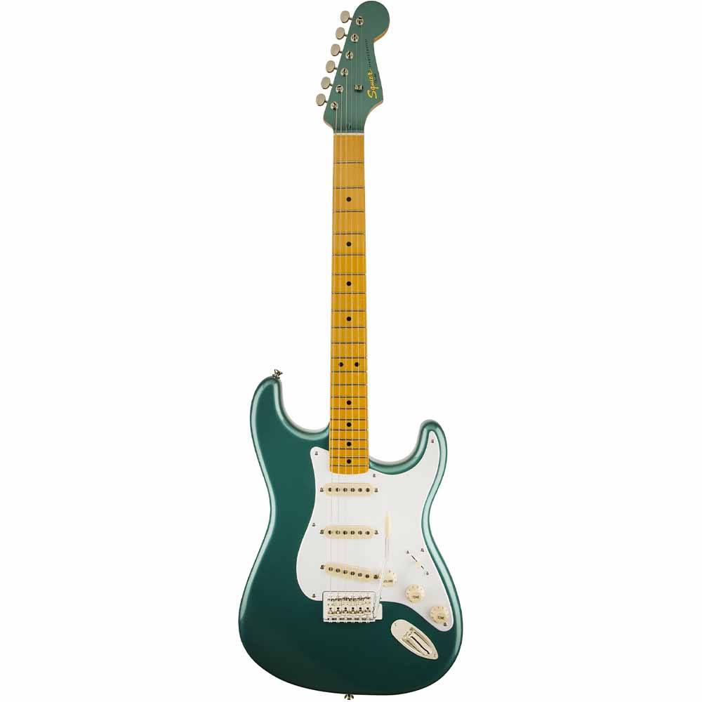 FENDER SQUIER Classic Vibe Stratocaster '50s, Maple Fingerboard, Sherwood Green Metallic with Matchi ელექტრო გიტარა