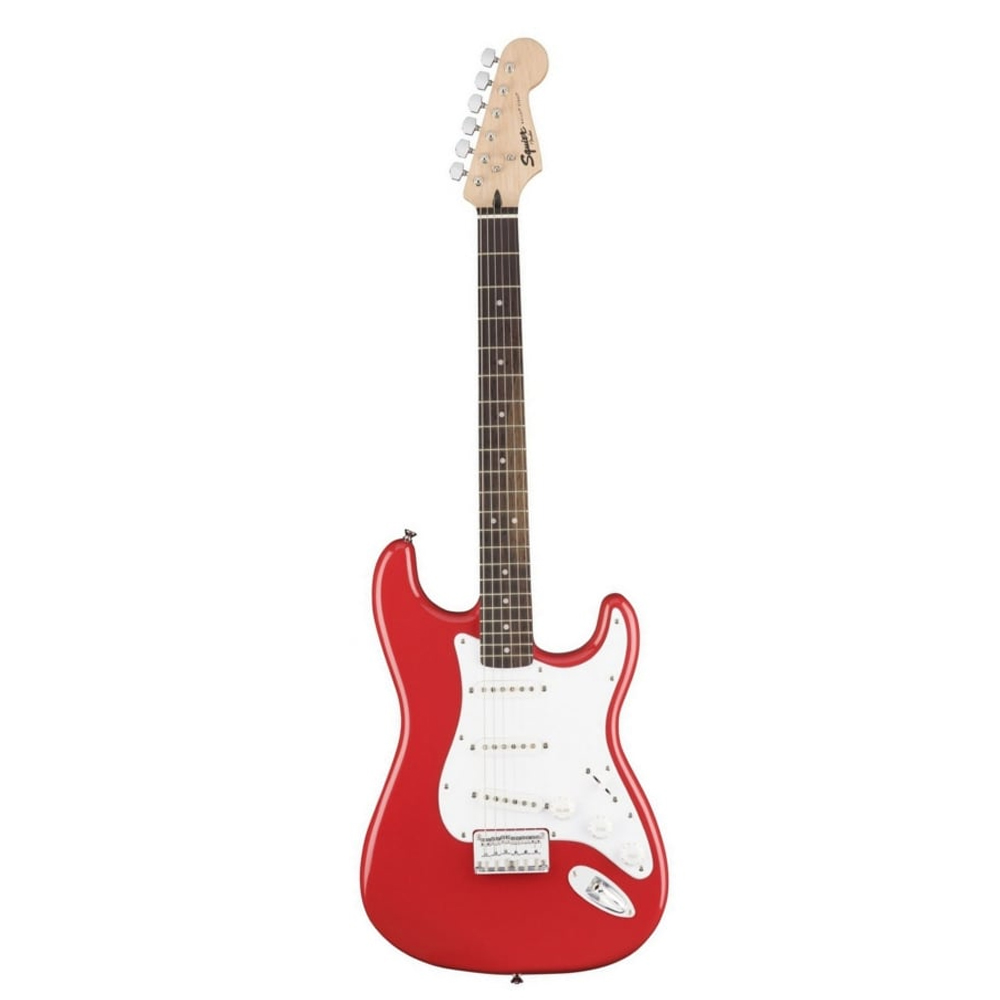 Fender Squier Bullet Stratocaster® Hard Tail, Laurel Fingerboard, Fiesta Red  ელ.გიტარა