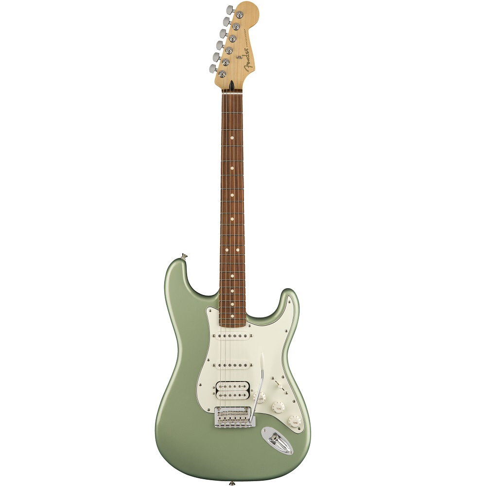 Fender Player Stratocaster®, Pau Ferro Fingerboard, Sage Green Metallic ელ.გიტარა