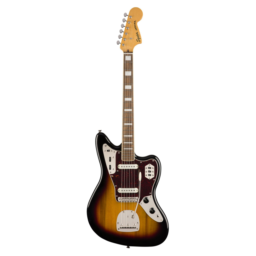 FENDER Classic Vibe '70s Jaguar®, Laurel Fingerboard, 3-Color Sunburst ელ.გიტარა