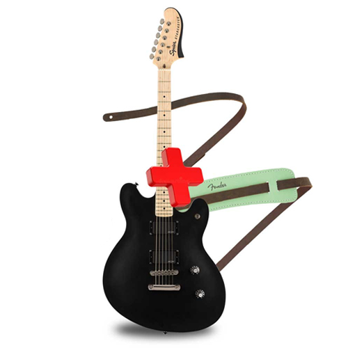 FENDER Contemporary Active Starcaster®, Maple Fingerboard, Flat Black ელ.გიტარა