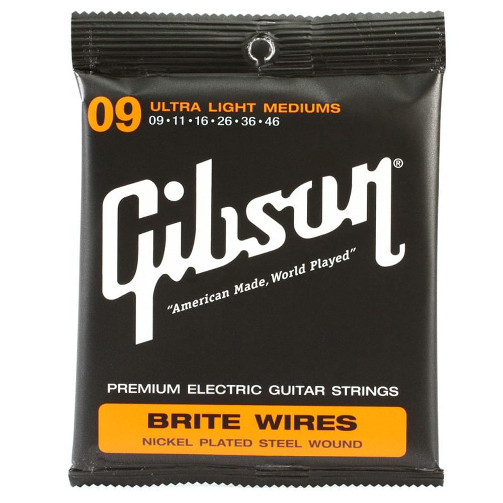 GIBSON Brite Wire Electric Strings (Ultra Lights)