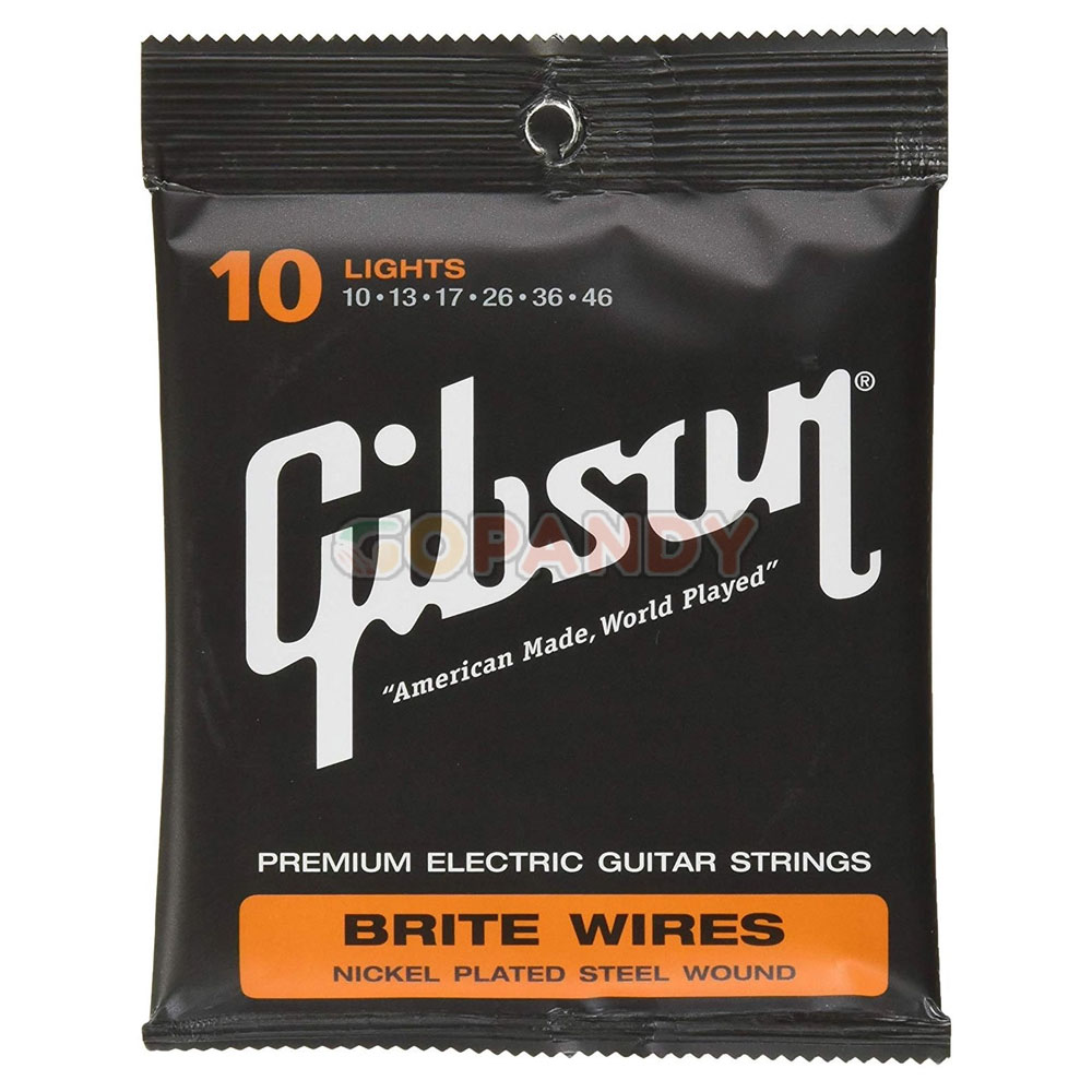 GIBSON Brite Wire Electric Strings (Lights) ელ. გიტარის სიმი