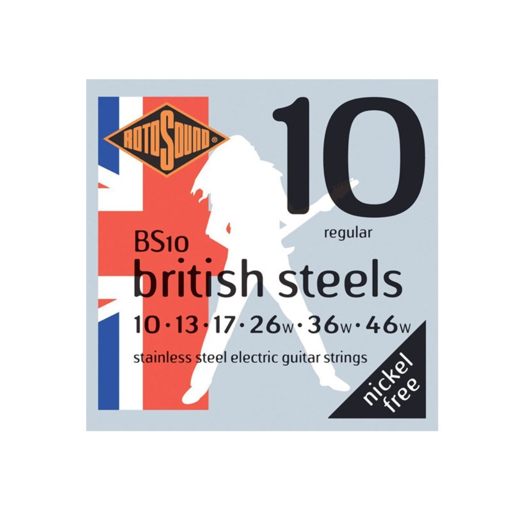 Rotosound BS10-F British Steel 10 Guage Set