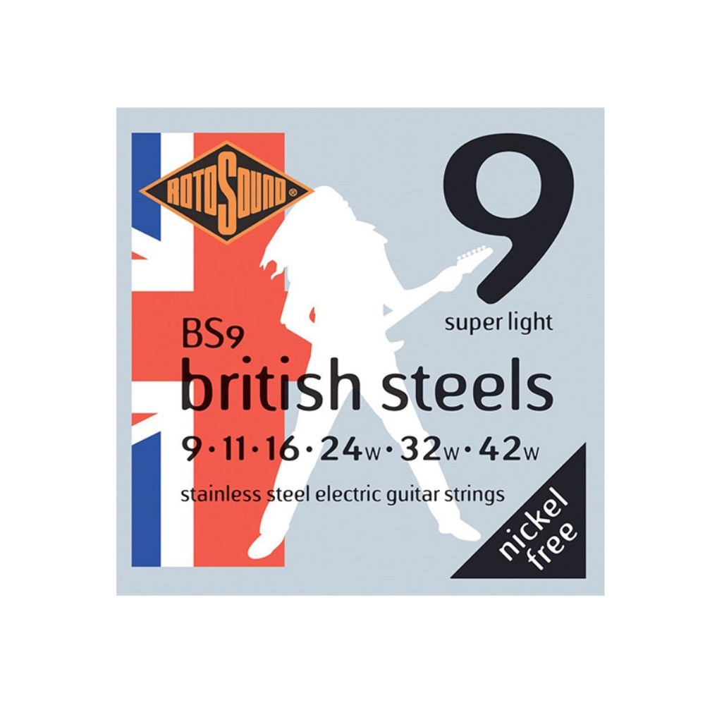Rotosound BS9-F British Steel 9 Guage set