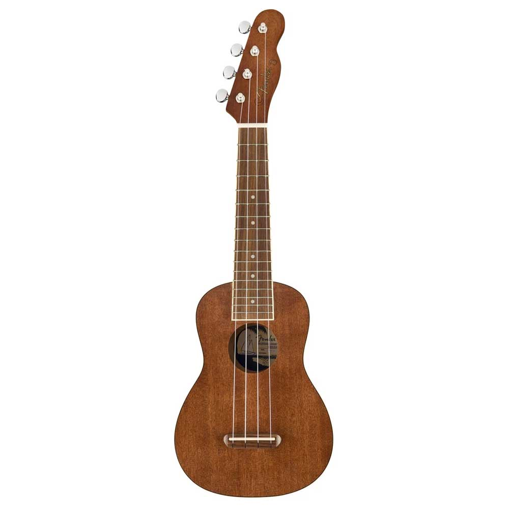Fender Seaside Soprano Uke, Natural უკულელე