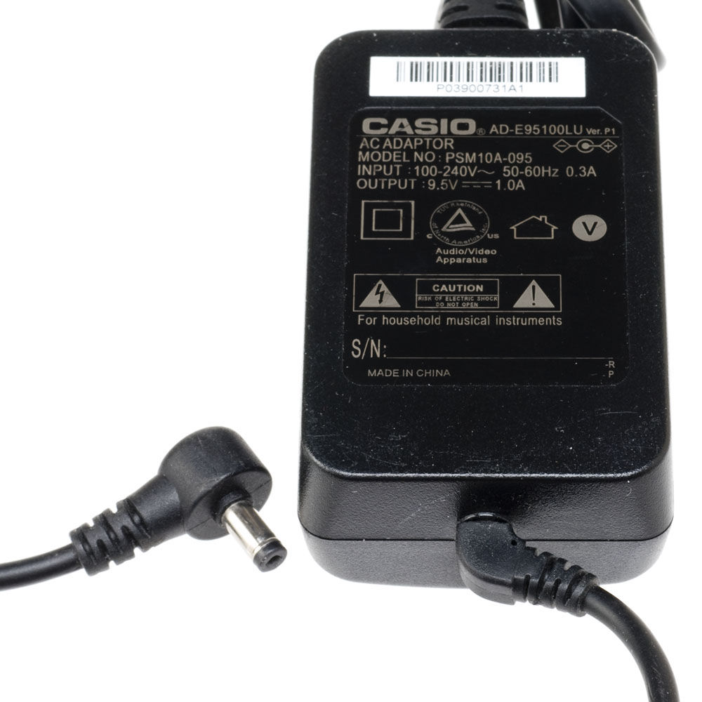 CASIO AD-E95100LG Power Supply ადაპტერი