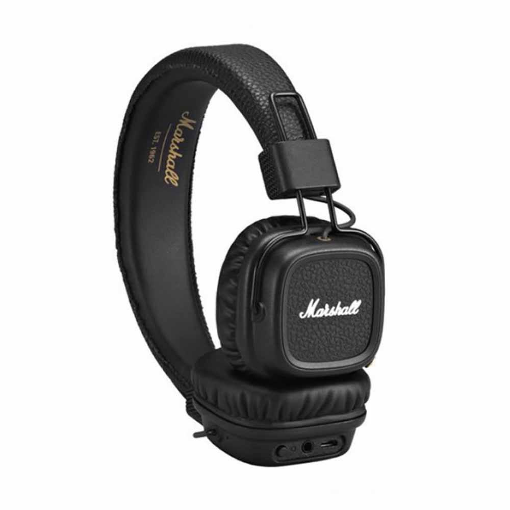 Marshall Major II Bluetooth Headphone Black ყურსასმენი