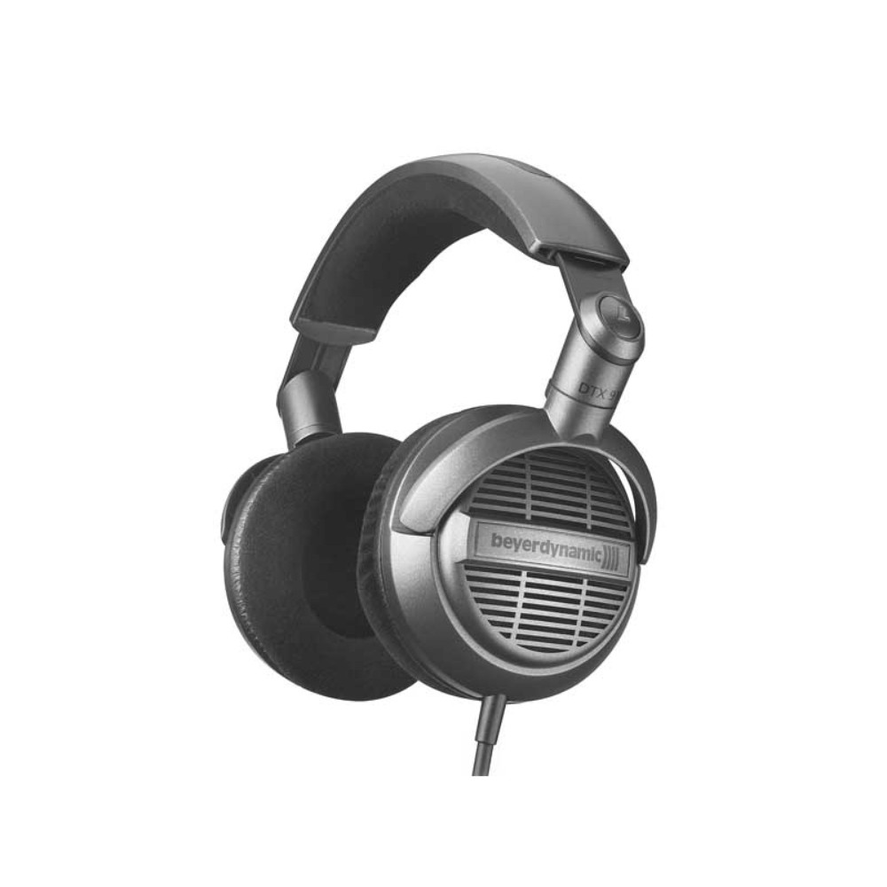 "Beyerdynamic DTX 910 Stereo headphones, 32 ?, open systems, single sided cable and stereo mini-jack / 1/4"" adapter სტერეო ყურსასმენი"
