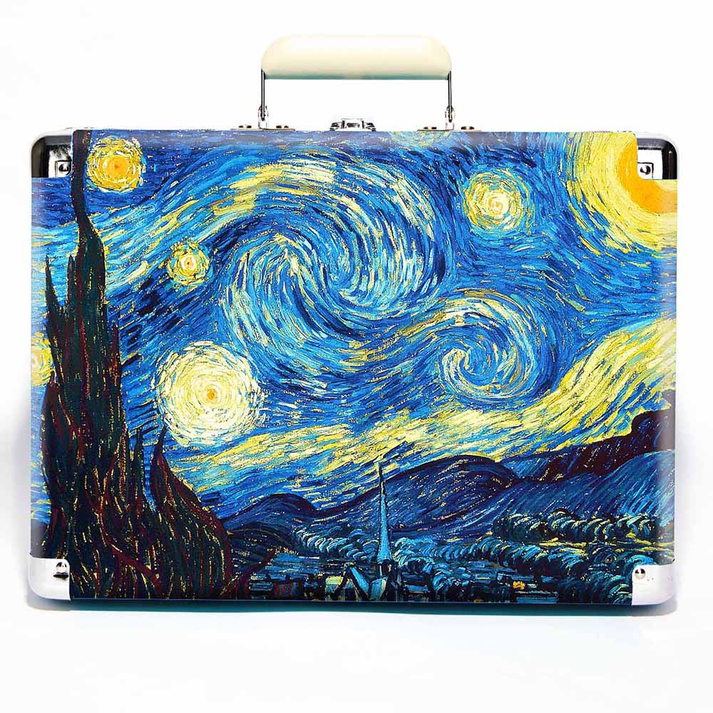 Crosley Cruiser Starry Night Art-ფირსაკრავი