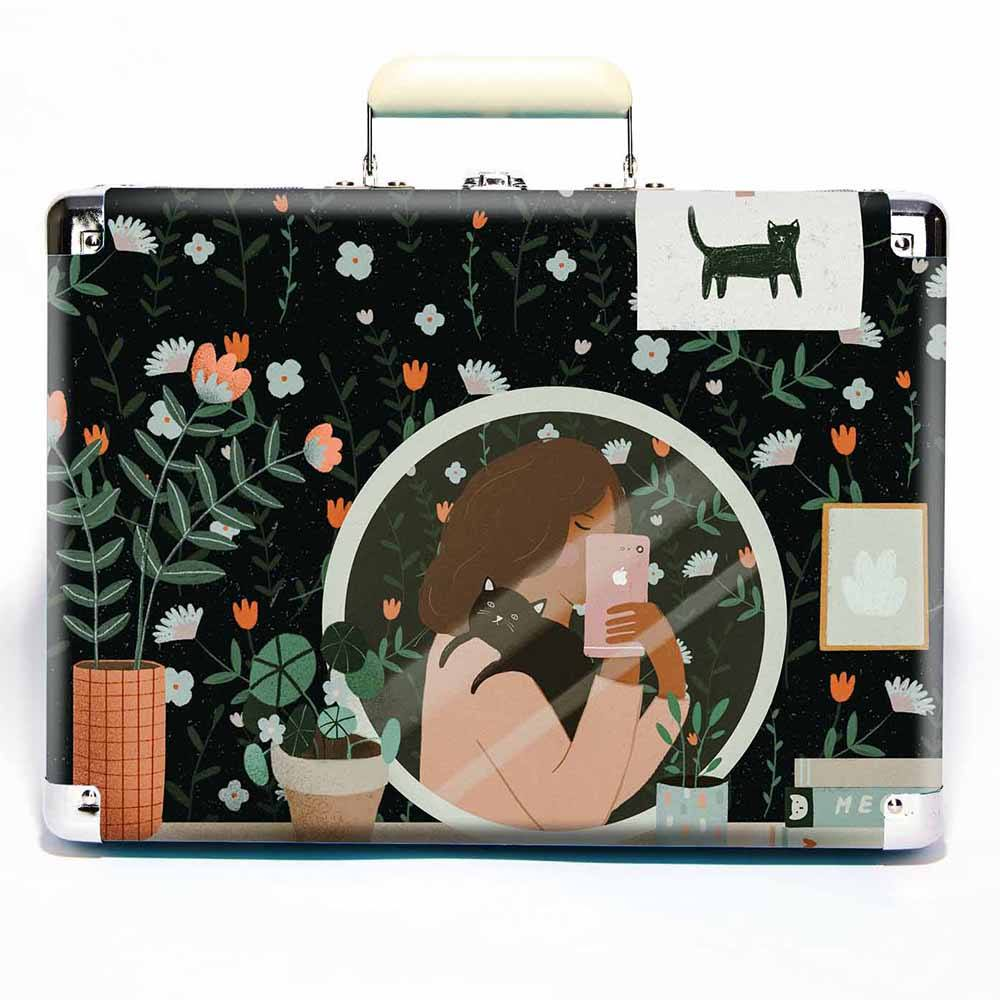 Crosley Cruiser Cat Lady Selfie Art-ფირსაკრავი