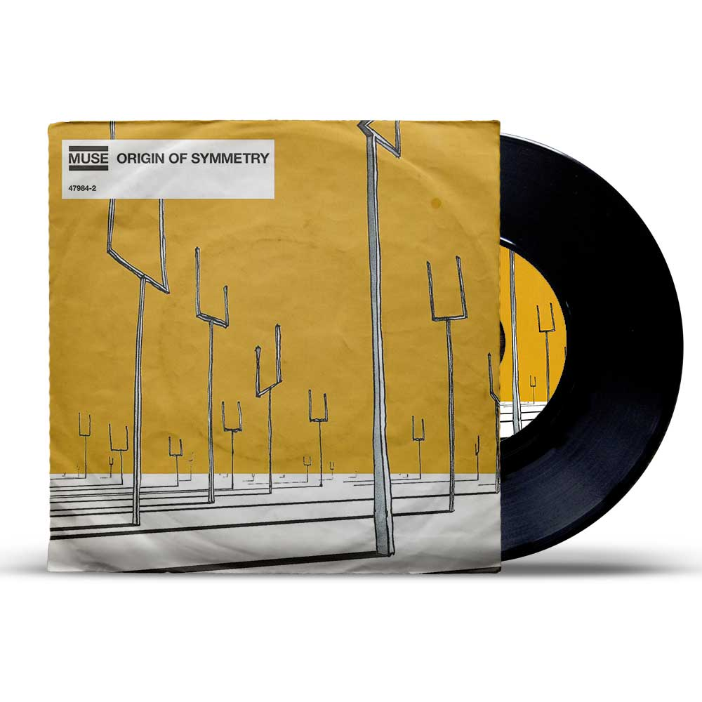 Muse Origin Of Symmetry ფირფიტა