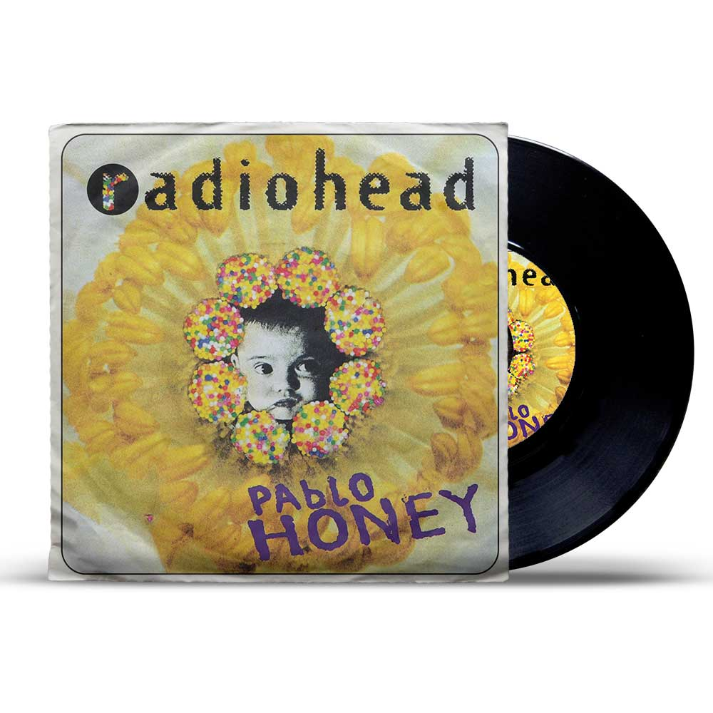 Radiohead Pablo Honey -Hq ფირფიტა