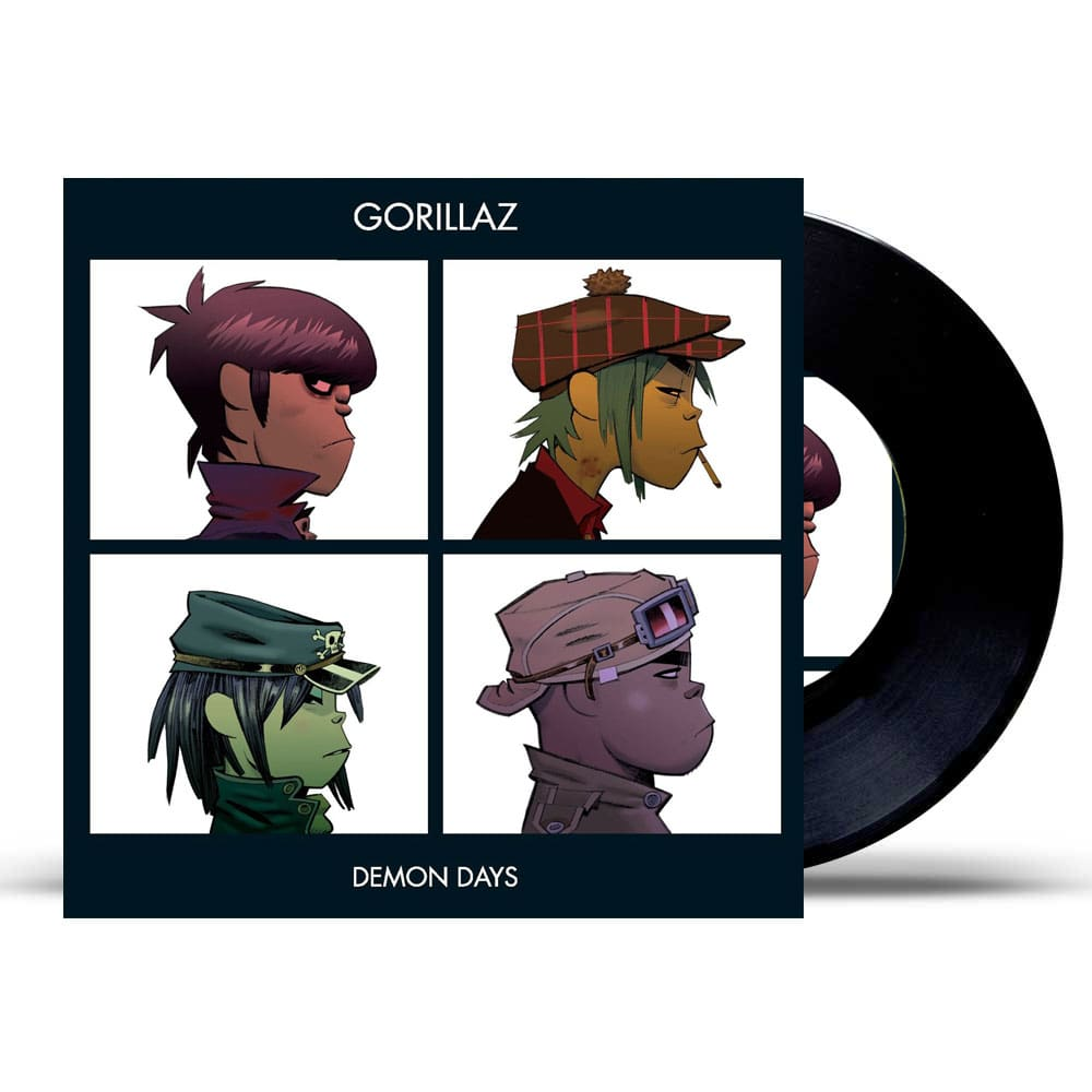 Gorillaz-Demon Days -Reissue ფირფიტა