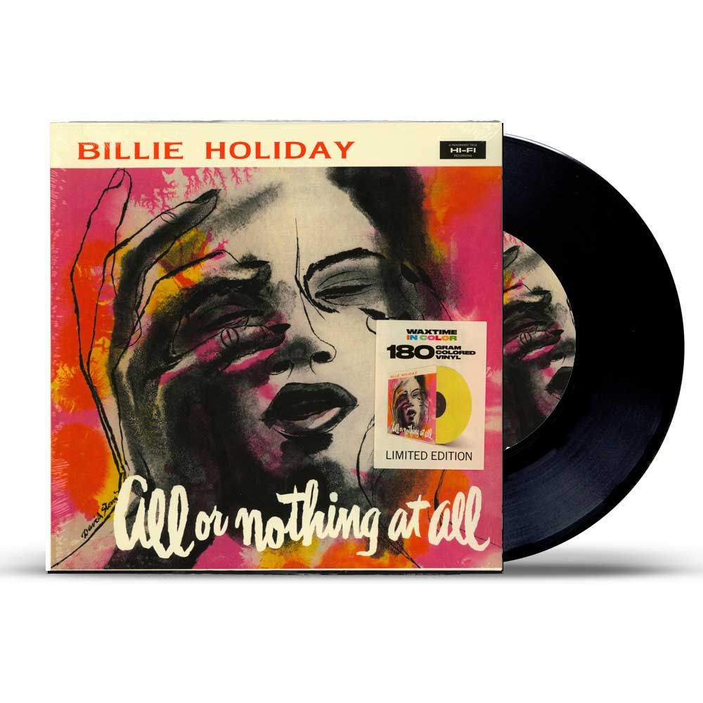 Holiday, Billie-All Or Nothing At All ფირფიტა