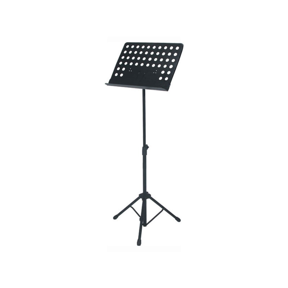 QUIKLOK MS330W/BAG Sheet music stand w/perforated metal desk & nylon carrying bag -Black ნოტების სადგამი, პიუპიტრი