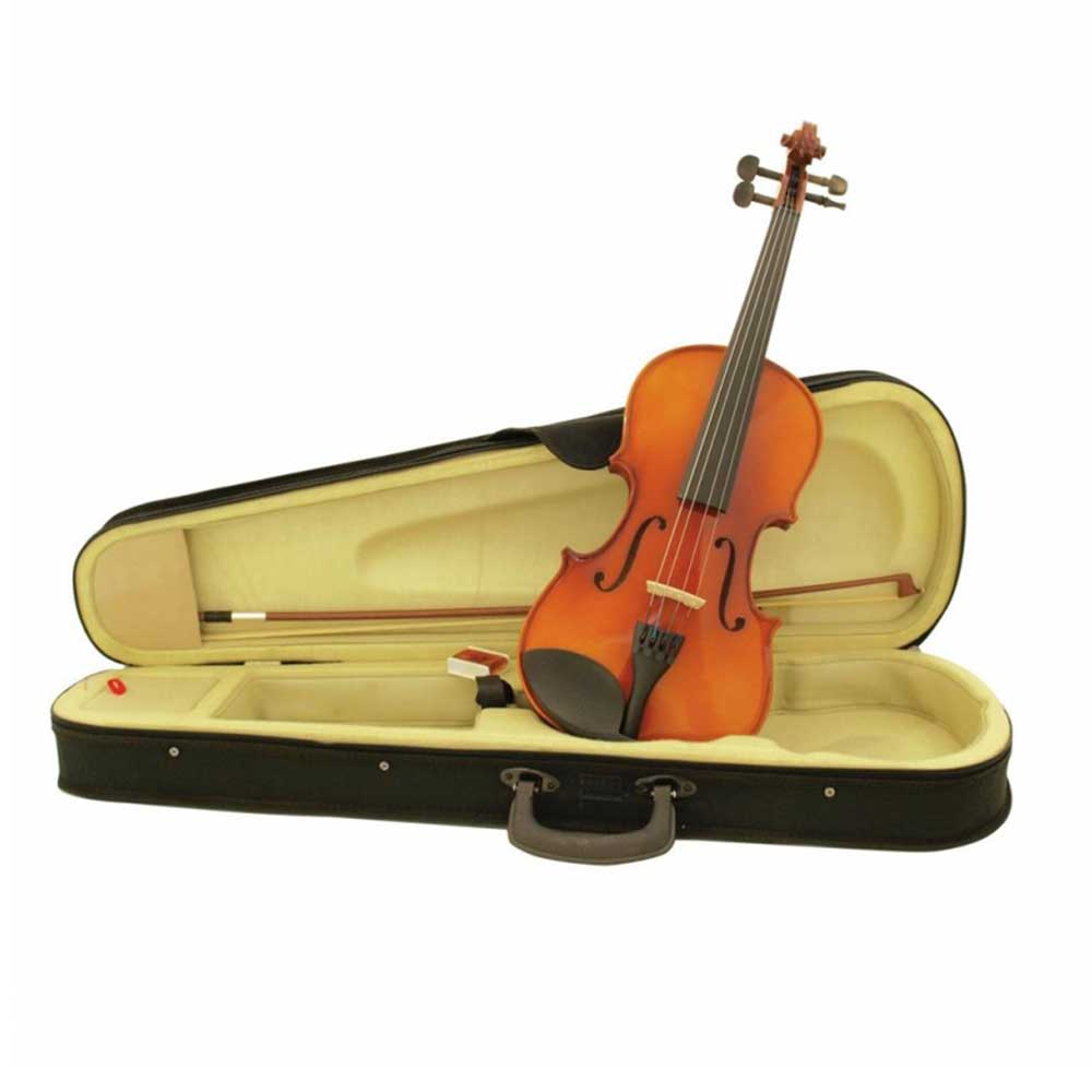 GEWApure VIOLIN OUTFIT HW 1/2 HW SETUP IN GERMAN GEWA WORKSHOP ვიოლინო