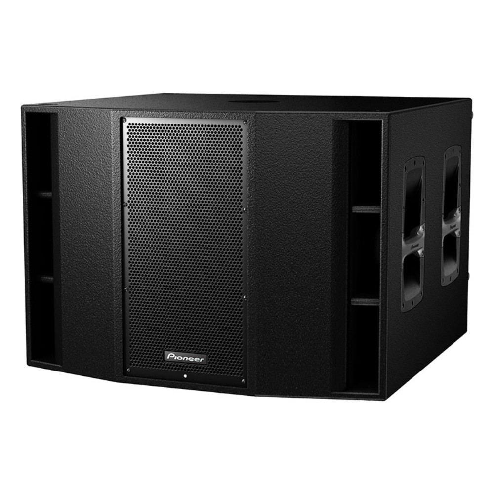 """Pioneer Pro Audio XPRS 215s - 1200w Dual 15"""" Active Subwoofer"""