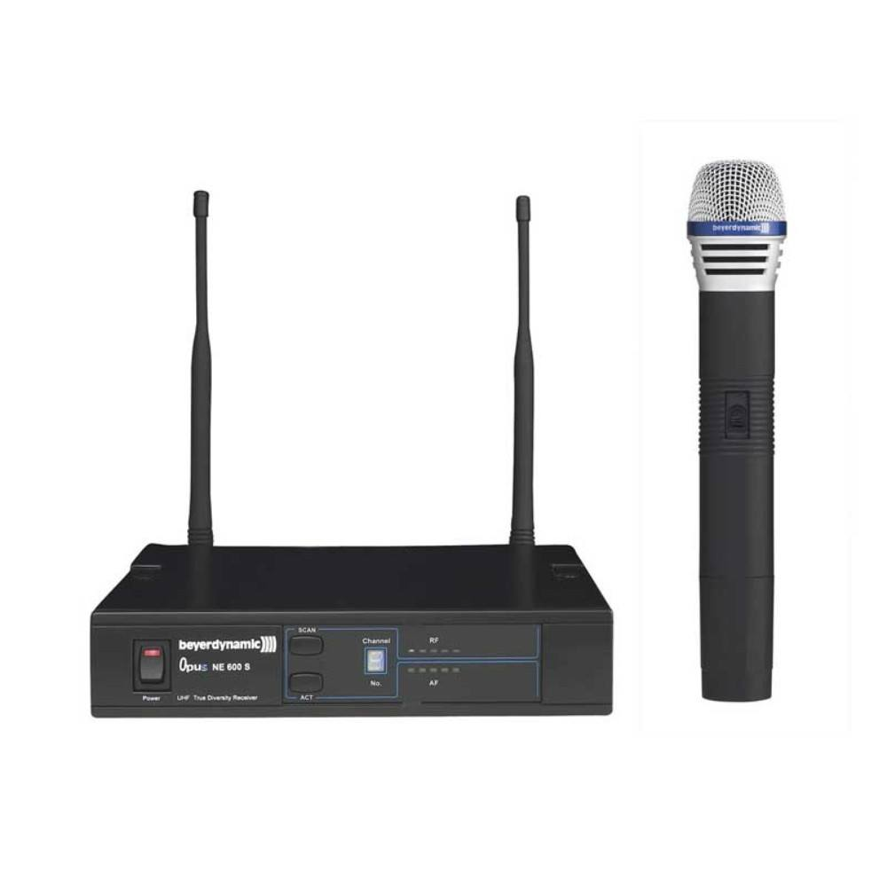 Beyerdynamic OPUS 669 668-692 MHZ UHF true diversity wireless system რადიო მიკროფონი