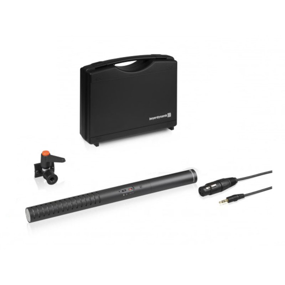 Beyerdynamic MCE 85 Kit shotgun microphones for phantom and battery power