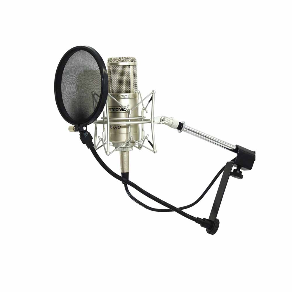 OMNITRONIC Microphone-Pop Filter, black პოპ-ფილტრი