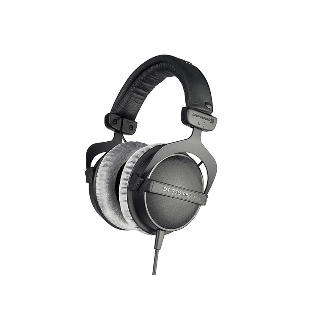 Beyerdynamic DT 770 PRO 80 ohms  Studio headphones, closed systems, straight single სტუდიური ყურსასმენი